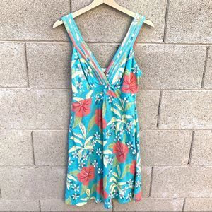 Tommy Bahama Tropical Floral Summer Mini Dress